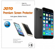 JOTO iPhone 6 Plus 5.5 Screen Protector - iPhone 6 Plus Screen Protector Film, Anti Glare, Anti Fingerprint (Matte Finish) version Screen Guard for Apple iPhone 6 Plus 14cm with Lifetime Replacement Warranty