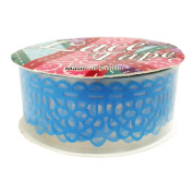 Arts and Crafts Scapbooking Lace Tape - Blue Flower