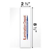10 Mil Bookmark Laminating Pouches 5.1cm - 1cm x 20cm - 1.3cm