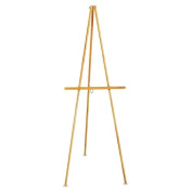 Quartet - Lightweight Tripod Floor Easel, 160cm High, Natural Oak 41E (DMi EA