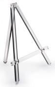 Table Easel, 33cm W x 36cm H, Clear Acrylic, Portable, Folding, 1.3cm Shelf Depth