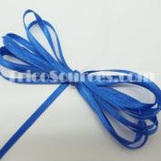 "Art Craft Ribbon Solid Satin Ribbon Double Faced 1/8""(3mm) x 100YDS Royal Blue - B4001RB"