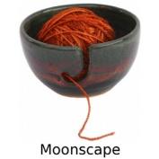 Yarn Bowl in Moonscape Glaze