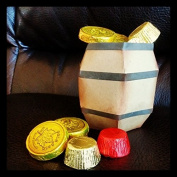 Pirate Barrel Candy Holder Party Decoration