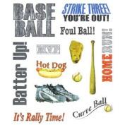 2 Sheets - Baseball Icon Stickers