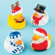 Funky Christmas Ducks Perfect Stocking Filler for Children