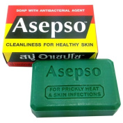 Asepso Antibacterial Agent Soap 80ml / 80 G (Pack of 12) from Thailand