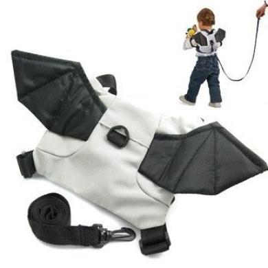 Crazy K & A Baby Toddler Walker Safety Harness Backpack Bag (Bat)