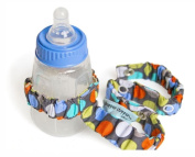 Sister Chic Dropper Stopper Sippy Cup and Tether Toy, Diddly Dot