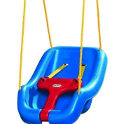 Baby Swing 2-in-1 Snug 'n Secure Swing Harness Toddler Child Blue Little Tikes