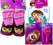 Disney Toy Story or Nickelodeon Dora the Explorer Children's Lil Slippers