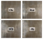 Artwork Reproduction Historical Buildings I Ii Iii Iv Set Of 4 Wall Art
