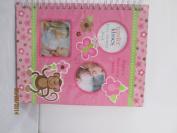Tender Kisses Baby Girl Memory Book