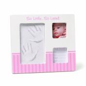 Gund Baby Hand and Footprint Photo Frame, Pink