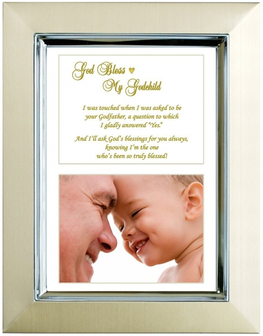 Godson or Goddaughter Gift From Godfather - Baptism, Christening ...
