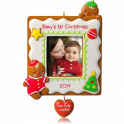 Baby's 1st Christmas One Cute Cookie Photo Holder - 2014 Hallmark Keepsake Ornament
