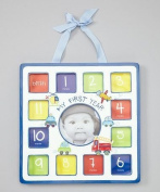 Baby Essentials Blue & Green 'My First Year' Future Dreaming Frame