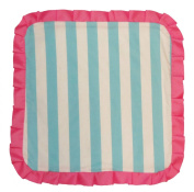 Caught Ya Lookin' Baby Thumb Blanket, Girls Blue and White Striped