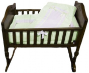 Baby Doll Royal Cradle Bedding Set, Mint