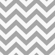 White and Grey Zig Zag Cradle Sheet
