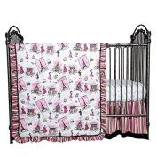 Trend Lab Waverly Tres Chic 3 Piece Crib Bedding Set