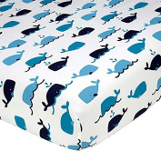 Whale of a Tale Fitted Sheet by Nautica Kids - same as in set