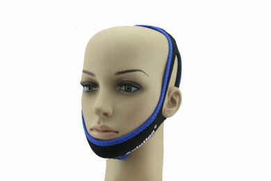 Brightkun Professional Anti Snore Chin Strap Belt Stop Snoring Sleep Apnea Chin Support Strap Adjustable Size