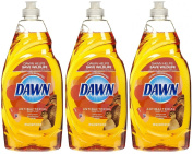 Dawn Ultra Antibacterial Dishwashing Liquid, Orange Scent, 710ml-3 pk