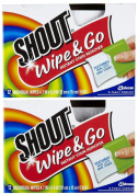 Shout Stain Remover Wipes - 12 ct - 2 pk