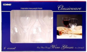 Classicware RCWSWN6 1 Piece Shrink Wrapped Wine Glass, 180ml Capacity, Clear