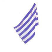 Cabana Striped Luxury Beach Towel, Royal Blue / White