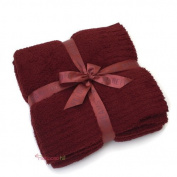 Barefoot Dreams Bamboo Chic Throw Blanket - Bordeaux