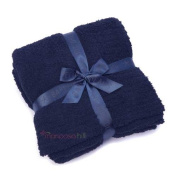 Barefoot Dreams Cosy Chic Throw Blanket, Indigo