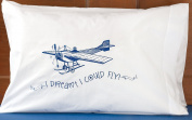 Kid's Pillowcase - Aeroplane - I Dreamt I Could Fly