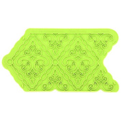 Filigree Damask Pattern Onlay Mould by Marvellous Moulds
