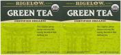 Bigelow Organic Green Tea Bags, 40 ct, 2 pk