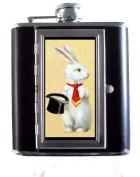 Magician White Rabbit & Tophat Victorian Art