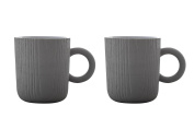 MU - Expresso Cups (GY) - 2pcs by Toast Living USA