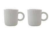 MU - Expresso Cups (WH) - 2pcs by Toast Living USA