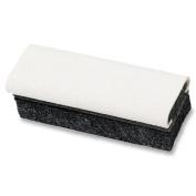 Quartet 807628 Deluxe laminated felt chalkboard eraser/cleaner, 6 x 2 x 1-5/8