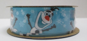 Offray Frozen Craft Ribbon, 2.2cm by 2.7m, Olaf Close Up