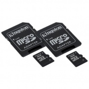 SJCAM SJ4000 Camcorder Memory Card 2 x 4GB microSDHC Memory Card with SD Adapter