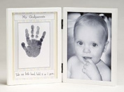 Dear Godparents Handprint Frame