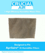 High Quality Humidifier filter Water Panel Pad Designed To Fit Aprilaire Humidifier Models 560, 560A, 568, 600, 600A, 600M, 700, 700A, 700M, 760, 760A, 768, Fits Lennox WB2-17/WP2-18. Aprilaire 35 Water Panel Part # 35, Designed & Engineere ..