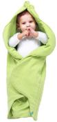 Wallaboo Fleur Baby Blanket, Lily Green, 0-12 Months