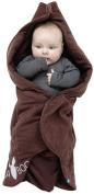 Wallaboo Baby Blanket Fleur, Toffee, 0-12 Months
