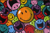 Fun Rugs SW-15 1929 Smiley World Smiles & Laughs