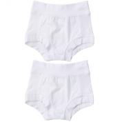 Oops! Undies Waterproof Bamboo Underwear White Training Pants 2 Pack