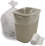 26.5l High Density Trash Bags Can Liners 6 Micron 2000/CS