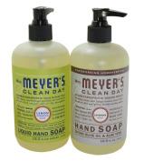 Mrs. Meyers Liquid Hand Soap Lavender & Lemon Verbena, 370ml each